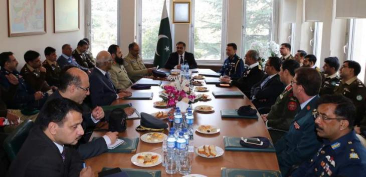 Pakistan's National Defence University delegation visits Turkey*