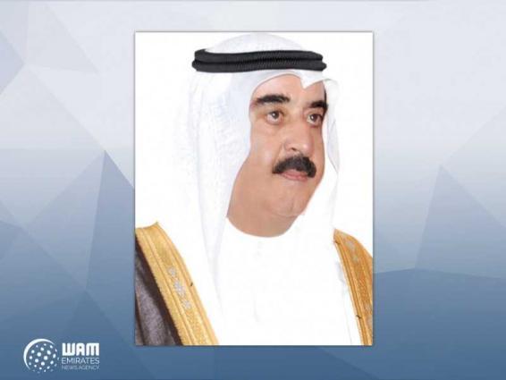 UAQ Ruler condoles Kuwaiti Emir on death of Sheikh Abdullah Saud Al-Sabah
