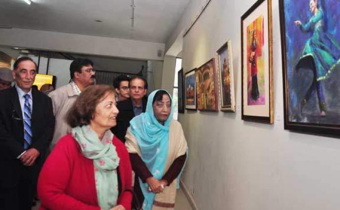 Three days exhibition of calligraphy continue at RAC