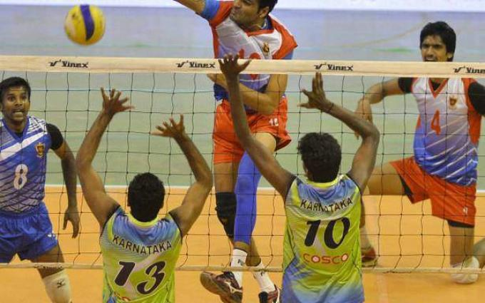 Third day of national volleyball championship: thrilling matches played