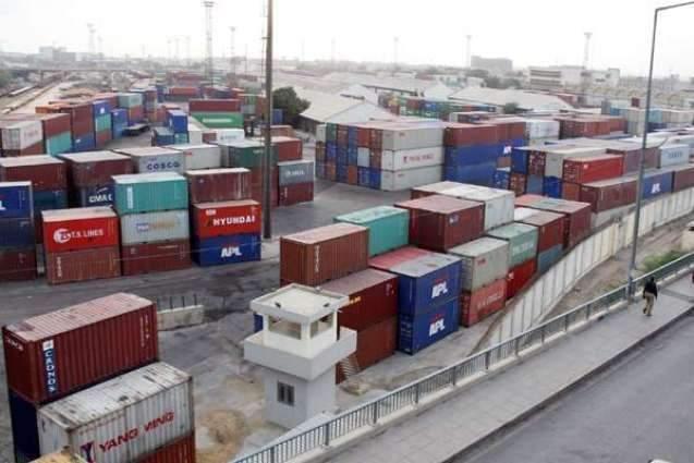 Shipping activity at Port Qasim 17 April 2019