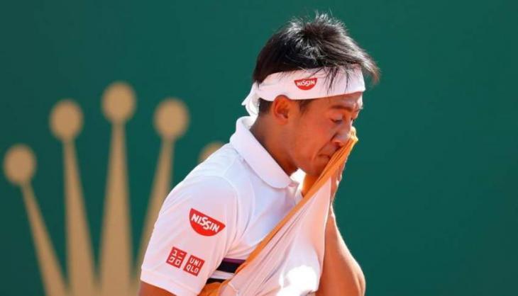 Japan's Nishikori knocked out in Monte Carlo