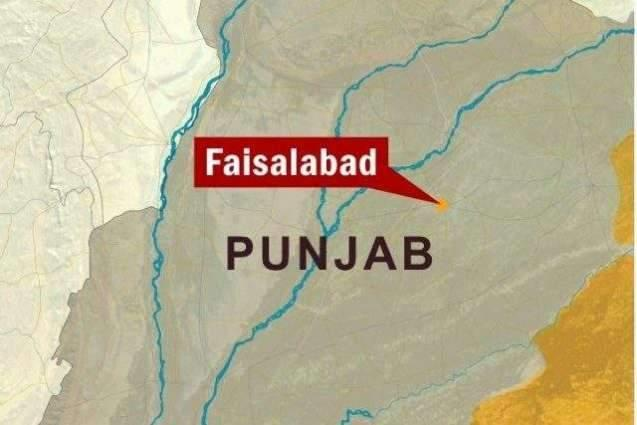 Cloth shop gutted in Faisalabad