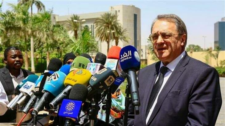 Russia's Bogdanov to Meet With Head of Sudan New Military Council in Khartoum Wed - Source