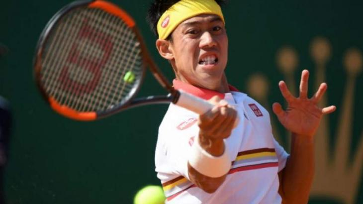 Japan's Nishikori knocked out in Monte Carlo