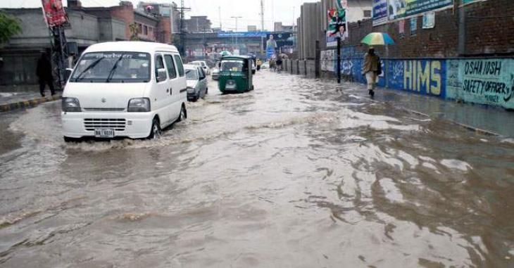 Two killed in rain related incidents in merged districts
