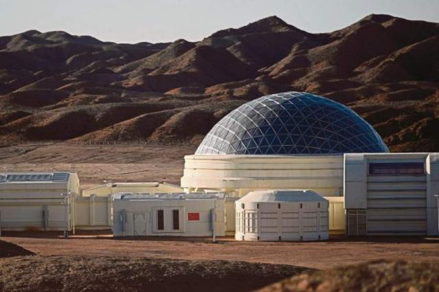 A small step for China: Mars base for teens opens in desert