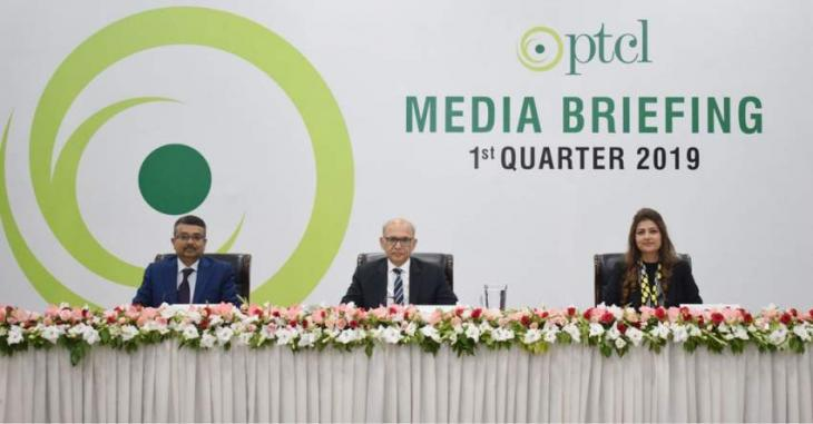 PTCL Group posts Double Digit Growth in Q1, 2019