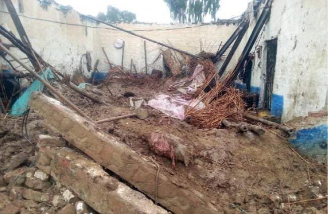 One killed three injured in roof collapsed incident in Bajaur