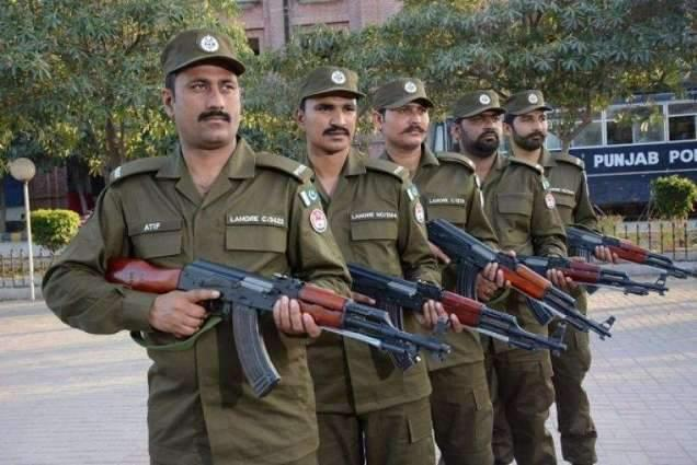 Security beefed up in city Lahore