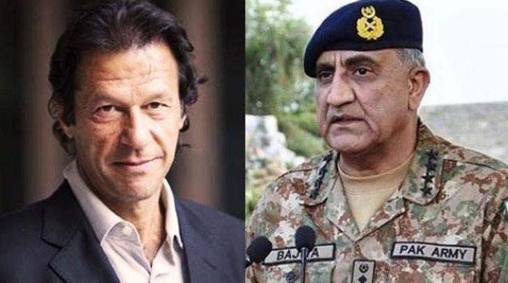 Army Chief Qamar Bajwa meets PM Khan