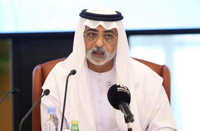 Nahyan bin Mubarak attends panel discussion at NYU Abu Dhabi Institute