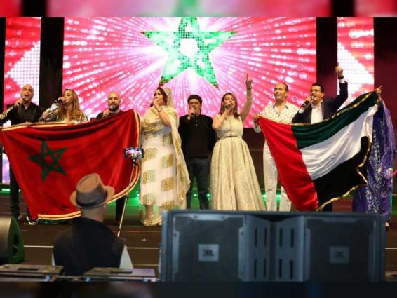 نجوم الطرب والموسيقى المغربية يصدحون بالتراث الغنائي على كورنيش أبوظبي
