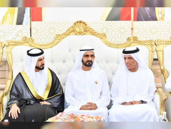 Mohammed bin Rashid, Saud Al Qasimi attend wedding reception in Ras Al Khaimah