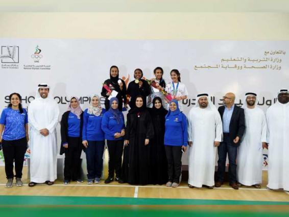 دبي تتفوق في الريشة الطائرة وأبوظبي تتصدرالسباحة بمنافسات الاولمبياد المدرسي
