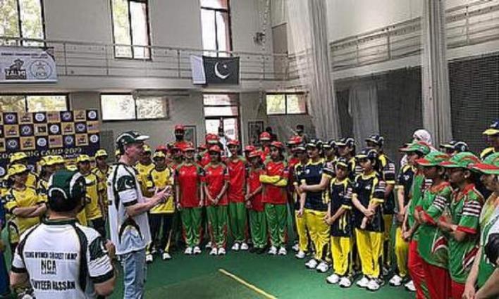 Zalmi foundation, US consulate, PCB organized women cricket camp