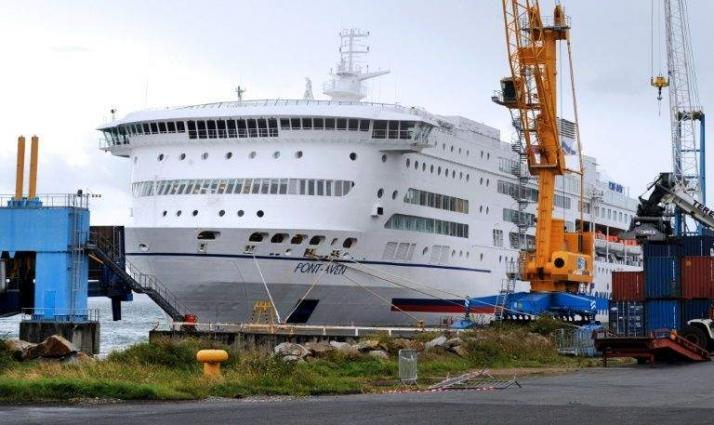 Fire breaks out on Britain-Spain ferry, passengers disembark in France