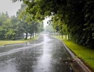 Rain with gusty winds forecast for KP 02 May 2019