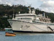 Measles-plagued Scientology ship leaves St Lucia