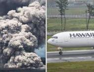 Indonesia issues flight warning as volcanic ash endangers planes