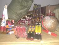 Madina Town police seized a huge quantity of fireworks and arrest ..
