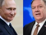Putin Says at Meeting With Pompeo That Mueller Probe Proved Lack  ..