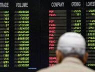 The Pakistan Stock Exchange (PSX) sheds 320 point to close at 33, ..