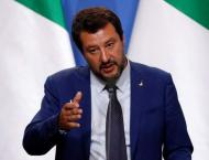 Italy Launches Probe Into Anti-Salvini Banner Seen During Electio ..