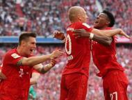 FC Bayern Beats Eintracht 5:1, Wins German Bundesliga for 7th Tim ..
