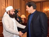 Maulana Tariq Jameel is still not disappointed at PM Imran