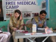 FC treats 1,085 patients in free medical camp