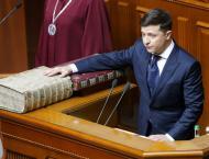 Zelenskiy Takes Office as Ukrainian President