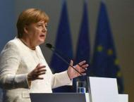 Merkel's coalition battles new crisis after EU vote debacle