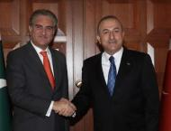 Pakistan, Turkey determined to make collective efforts in confron ..