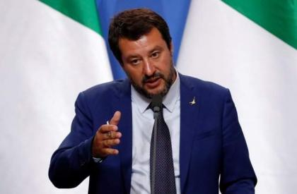Italy Launches Probe Into Anti-Salvini Banner Seen During Election Campaign - Reports