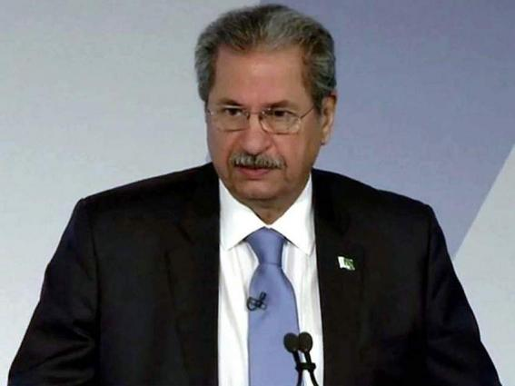 Shafqat Mahmood for providing best environment to working women for national development