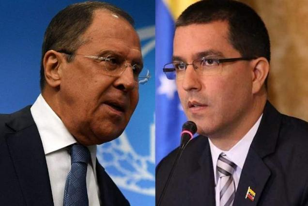 Lavrov, Arreaza to Discuss Foreign Pressure on Caracas in Moscow on Sunday - Ryabkov