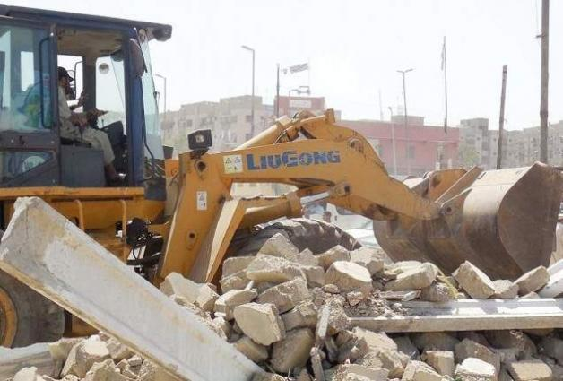 CDA acclerates operation to eradicate violations from right of way