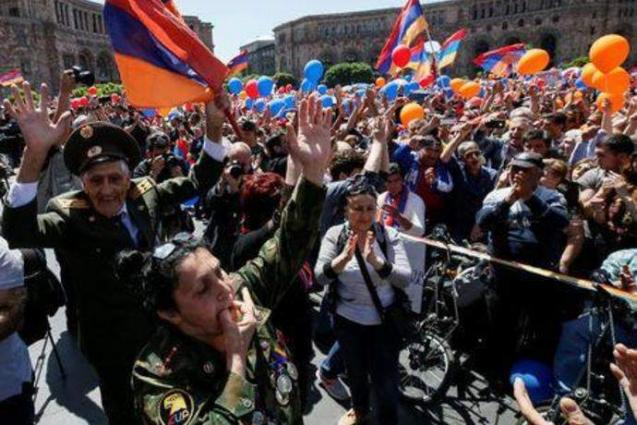 Armenian Protesters Blocking Courthouse Access After Ruling to Free Ex-President Kocharyan