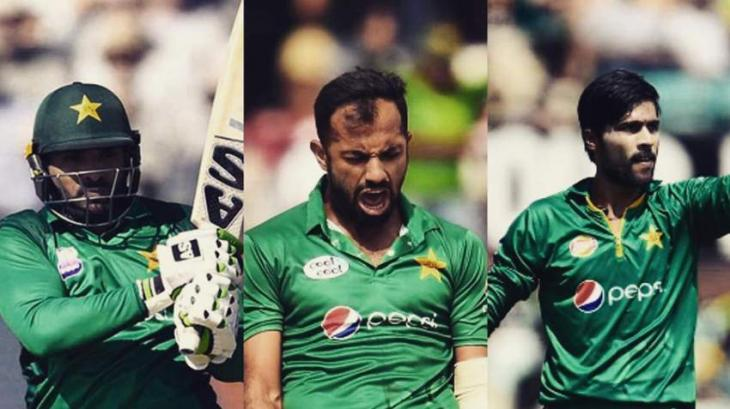 Mohammad Amir, Wahab Riaz, Asif Ali Included In Pakistans