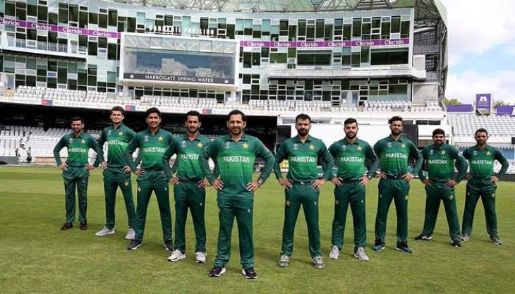 Pak cricket players feel excited to wear new teams jersey