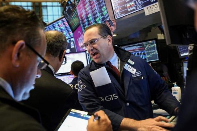 US stocks dip, Qualcomm takes a beating