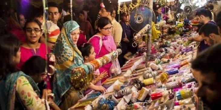 Eid shopping gets momentum across city in Sargodha
