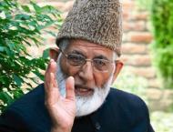 Ali Gilani urges UN, major powers to settle Kashmir dispute
