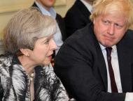 Brexit hardliner Johnson tops first-round vote for British Prime  ..