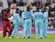 England v West Indies World Cup scoreboard