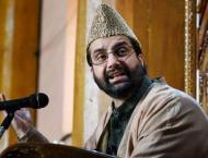 Chairman of Hurriyat forum, Mirwaiz Umar Farooq urges India, Paki ..