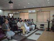 Workshop on self-assessment report writing concludes at KMU