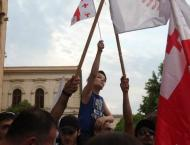 Tens of Drivers Join Protest Car Rally in Tbilisi to Demand Inter ..