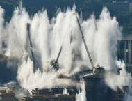 Italy demolishes remains of Genoa bridge